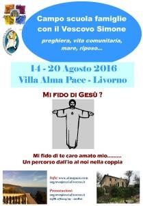 14 - 20 agosto famiglie alma pace